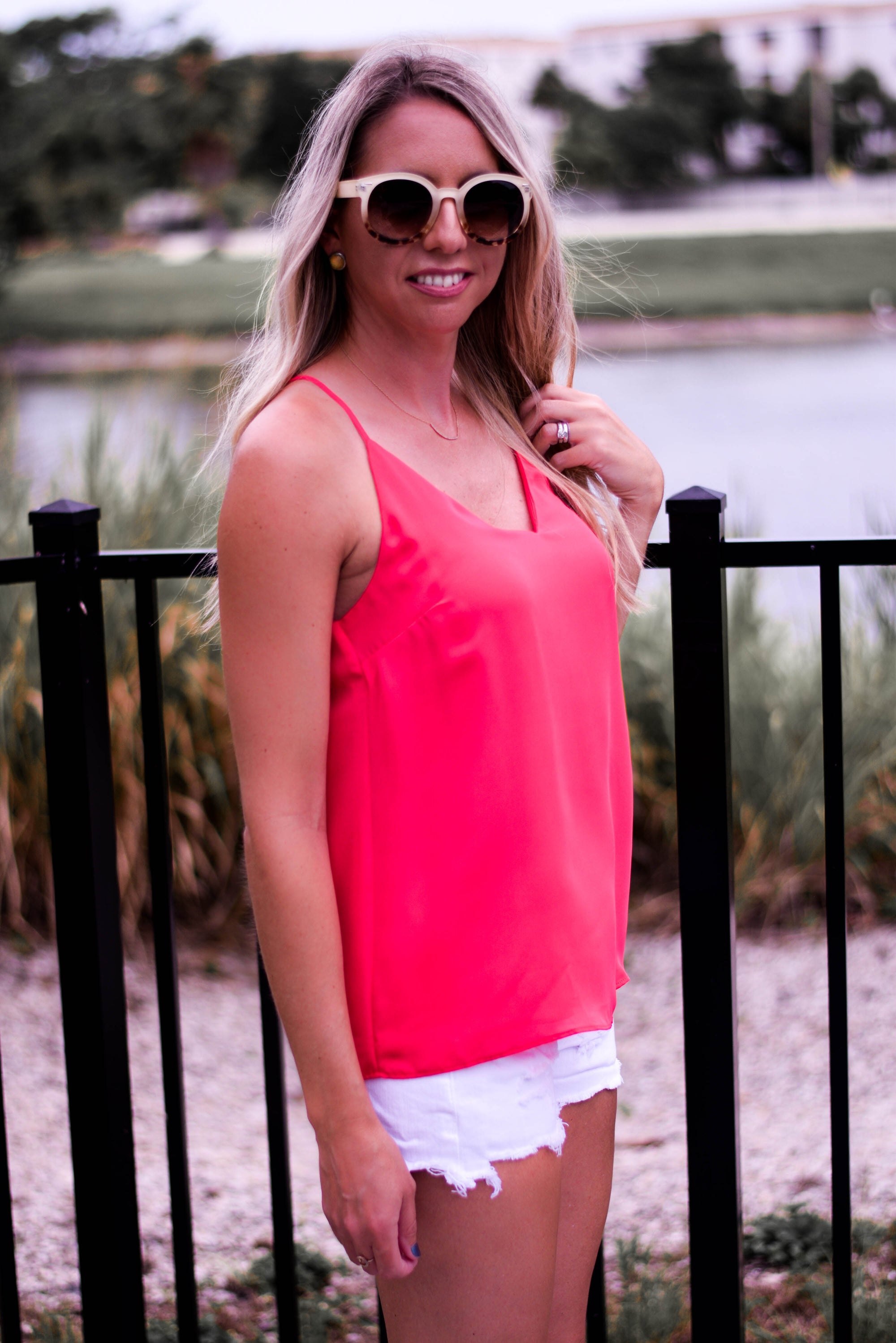 Watermelon Punch Dressy Tank