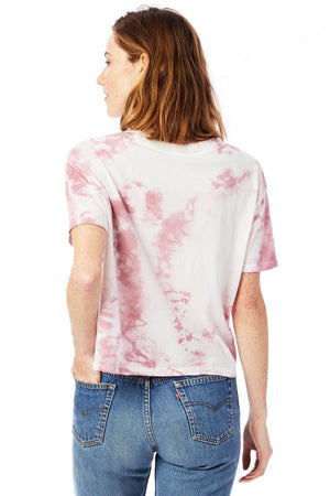 Whiskey Rose MomCrop Tee Back