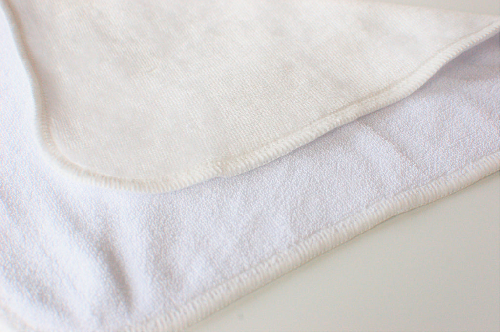 Perfect Touch Bamboo Velour Terry Cloth Wipes - Set of 10