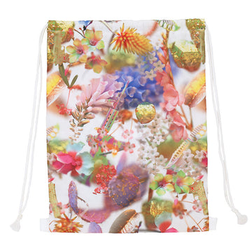 FLOWER CINCH BAG
