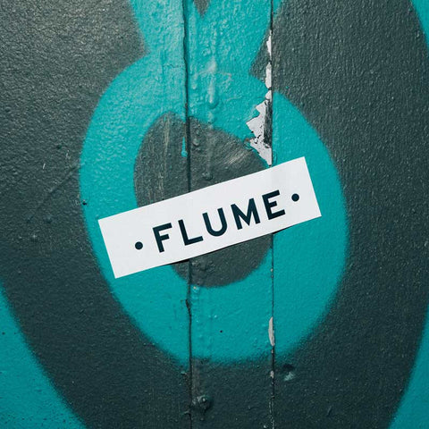 FLUME STICKER SET