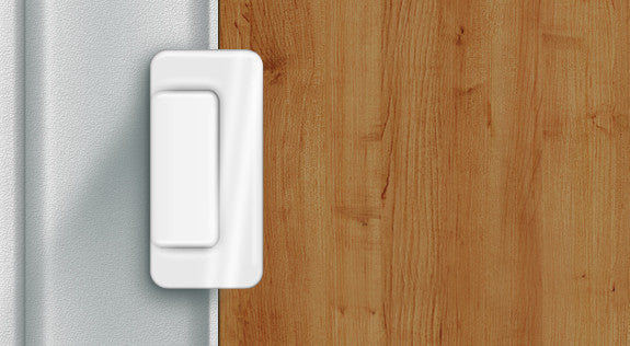 Door Guardian - Reinforcement and Childproofing Latch (closed)