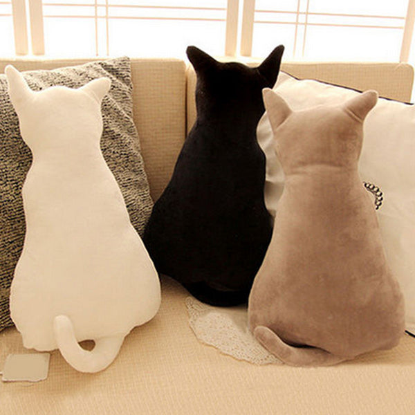 Cozy Cat Plush Pillow (3 Colors) -75% OFF