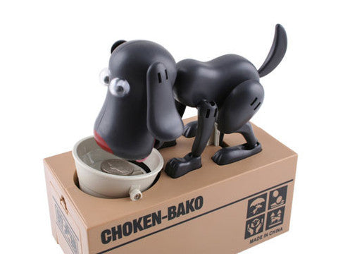 "HOT GIFT: ""Hungry Dog"" Savings Bank"