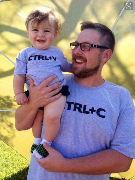 "Matching Family ""Copy Paste"" T-Shirts"