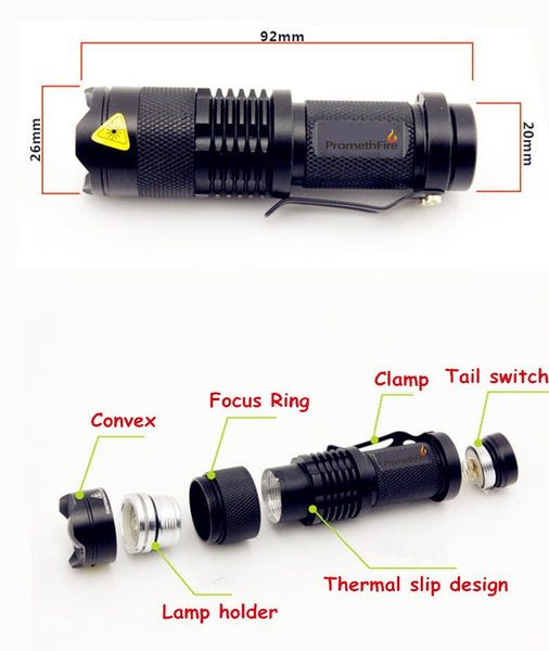 FREE Tactical Pocket Flashlight Offer (Just Pay S&H)