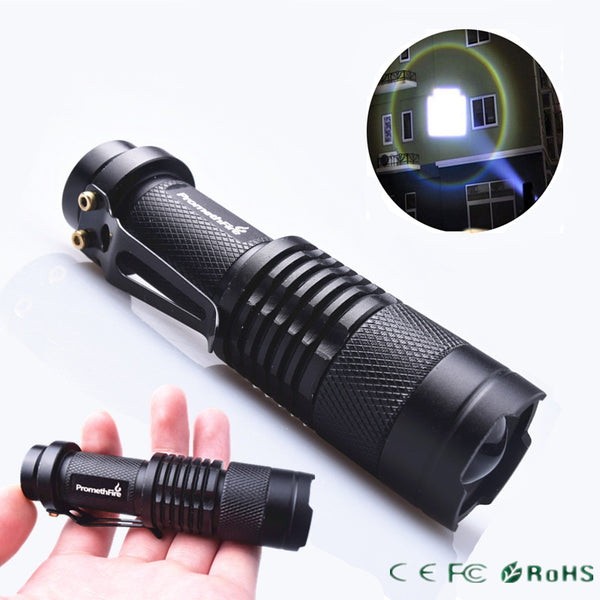 Tactical Pocket Flashlight - ZOOMABLE!