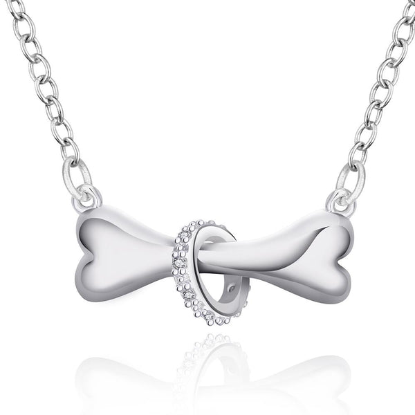 Dog Lovers Necklace (925 Silver Plated)