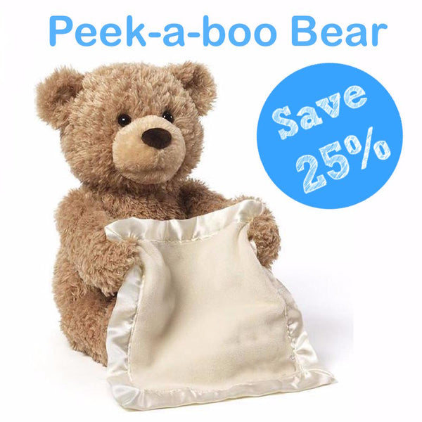 Premium Peek-A-Boo Bear (Save 25% Today)