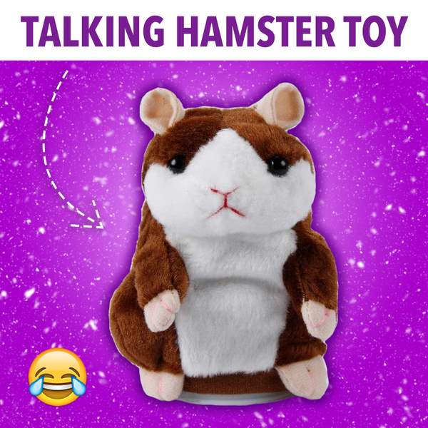 Talking Hamster Toy [😂 Hilarious ]