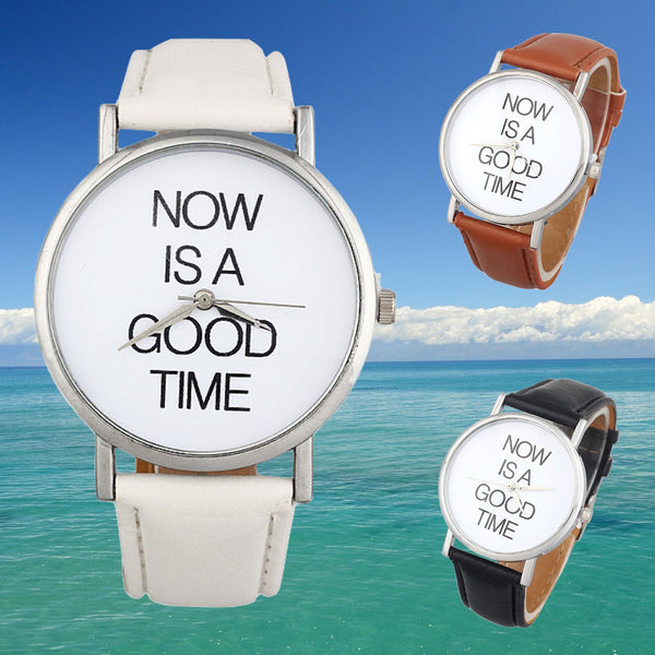 """NOW Is A Good Time"" Wristwatch Giveaway"