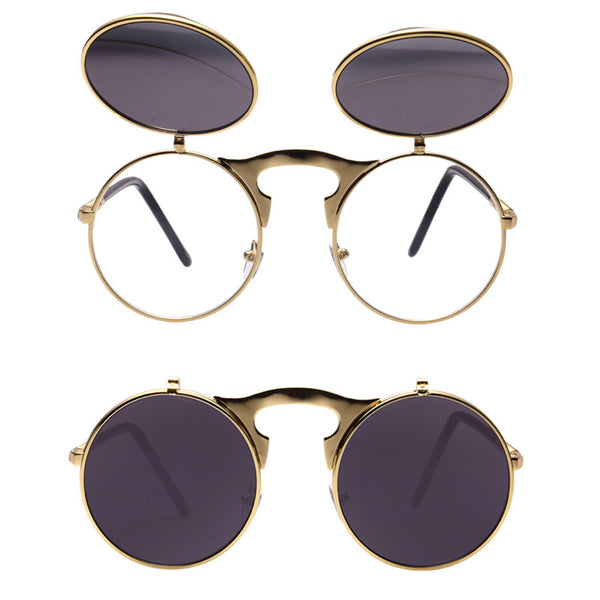 Flip Steampunk Sunglasses