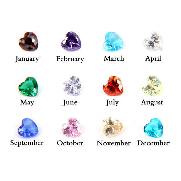 "EXTRA Set of Birthstones (For ""Inside My Heart"" Bracelet)"