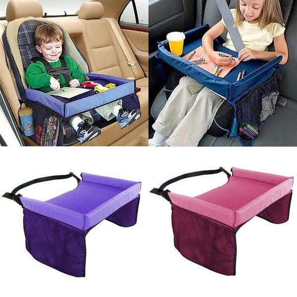 Car Seat Tray for Storage & Play