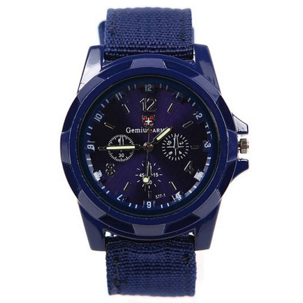 Military Canvas Watch (4 Colors)