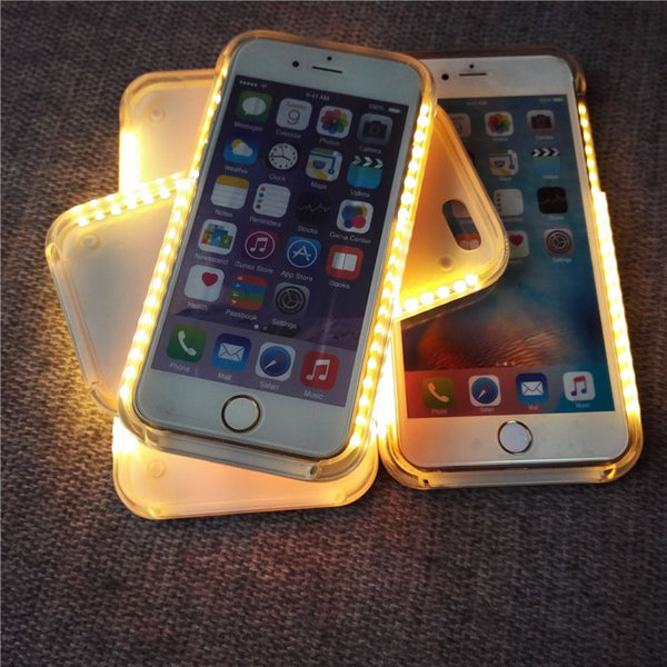 "FLASH Sale - ""Perfect Selfie"" Lighted Case! (iPhone + Samsung)"
