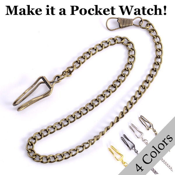 Pocket Watch Chain (for Necklace Watches)