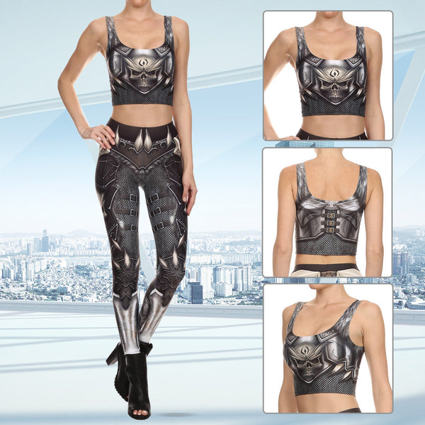 Stylish Steampunk Crop Top (8 Styles) -65% OFF