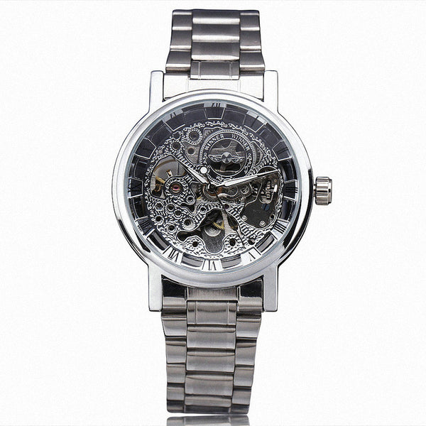 Mechanical Steampunk Watch (3 Colors) +FREE Storage Case