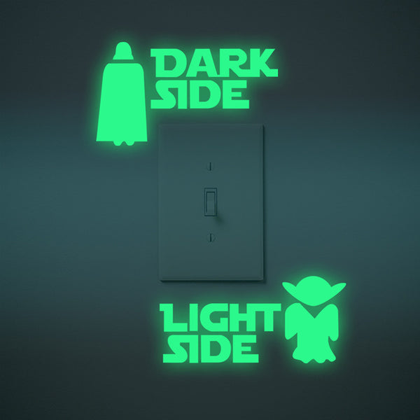 Light Side - Dark Side Wall Sticker GIVEAWAY