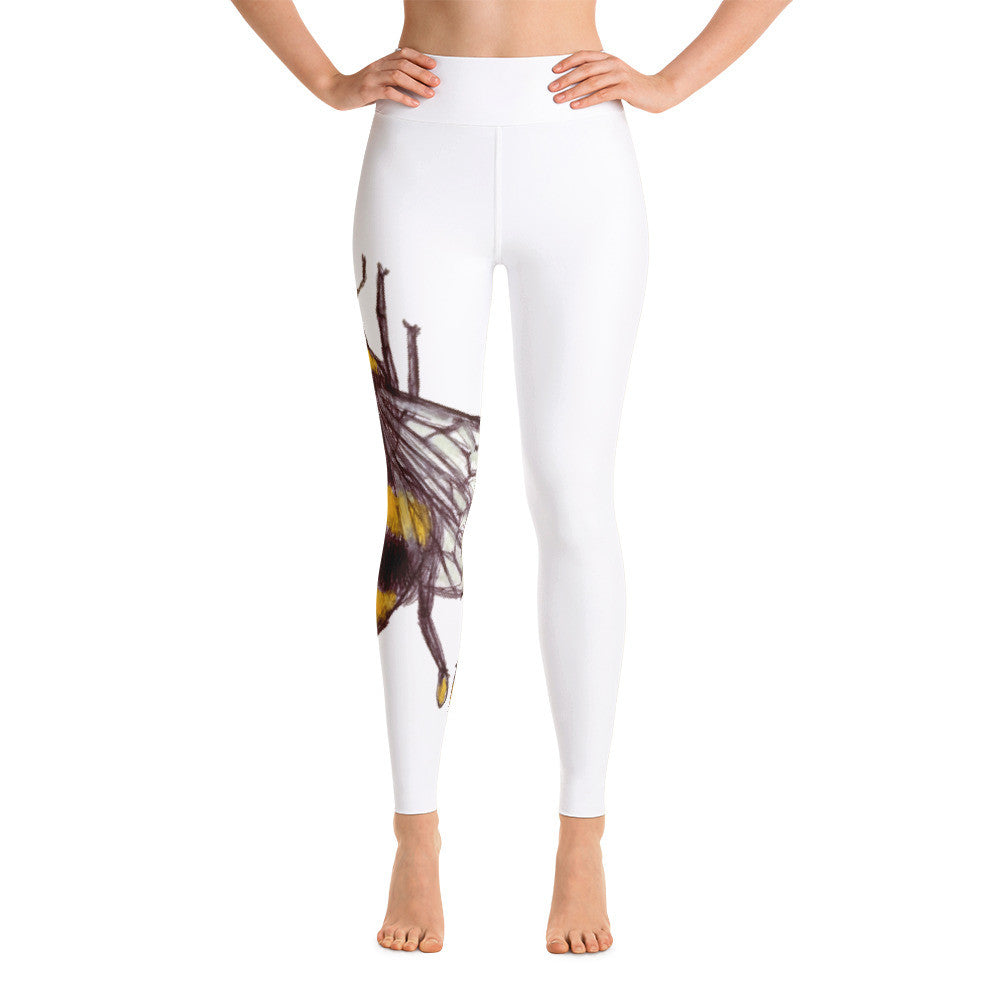 The Honey Bee Yoga Leggings