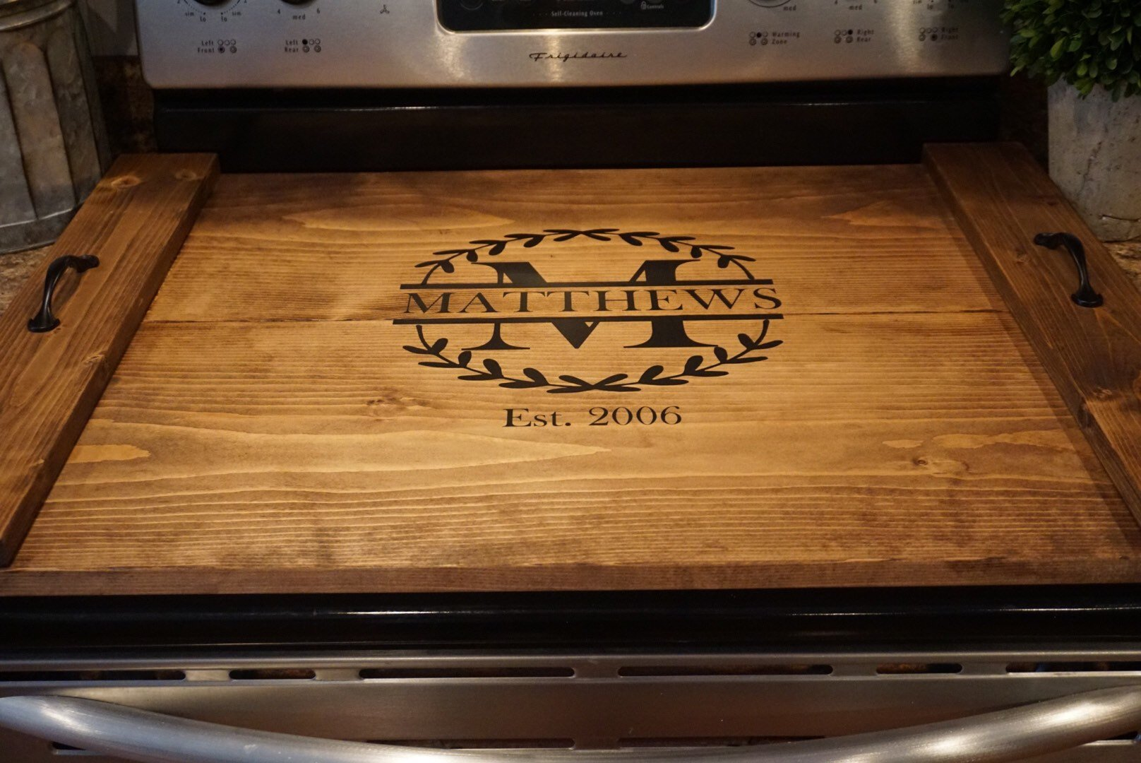 Stove Top Cover Stove Top Tray Custom Stove Tray Wood Stove Cover Bridges2you