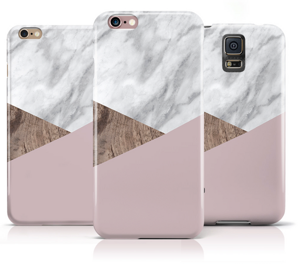 White Marble and wooden texture iPhone 6s Case iPhone 6 Case - The Case Company