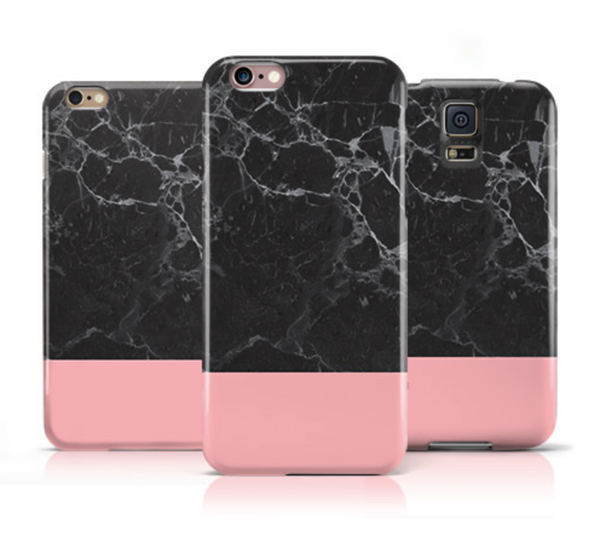 Black Marble and Pink iPhone 6s Case iPhone 6 Case - The Case Company