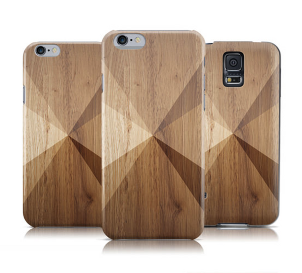 Geometric Wooden Texture iPhone 6s Case iPhone 6 Case - The Case Company