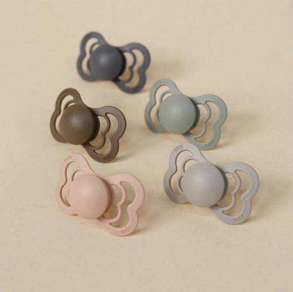 BIBS Supreme Silicon pacifier - Different colors