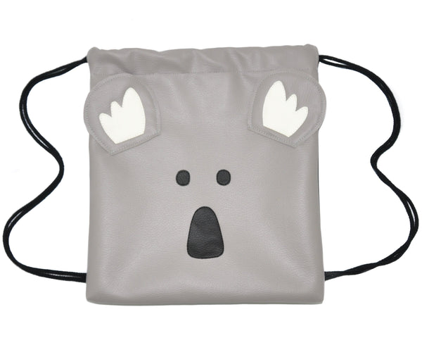 Koala - Backpack-Little Lambo kids backpack drawstring animal