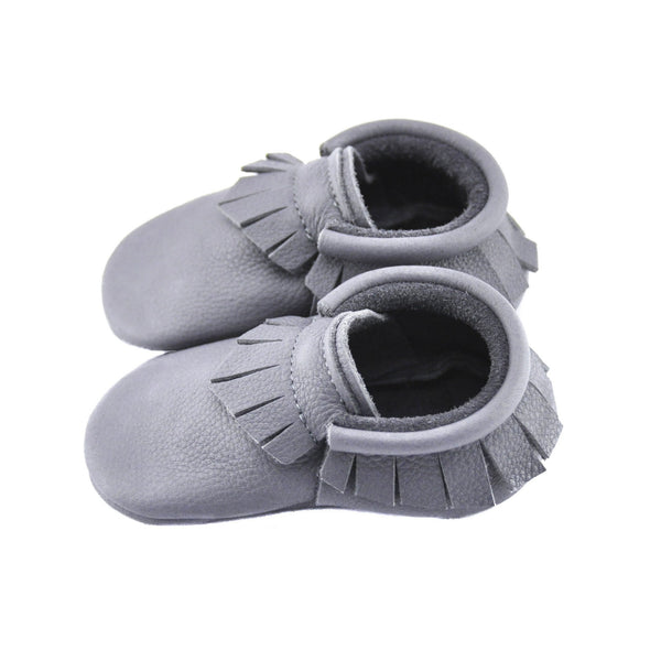 Happy Hippo-Little Lambo vegetable tanned baby moccasins