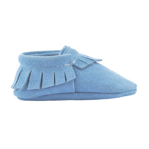 Santorini-Little Lambo vegetable tanned baby moccasins