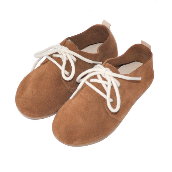 Lion - Hard Sole Oxfords-Little Lambo baby moccasins otroski copatki