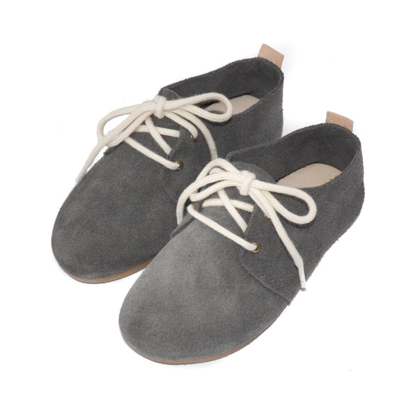 Ash - Hard Sole Oxfords-Little Lambo baby moccasins otroski copatki