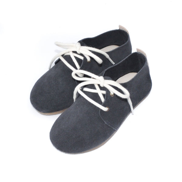 Anchor - Hard Sole Oxfords-Little Lambo baby moccasins otroski copatki