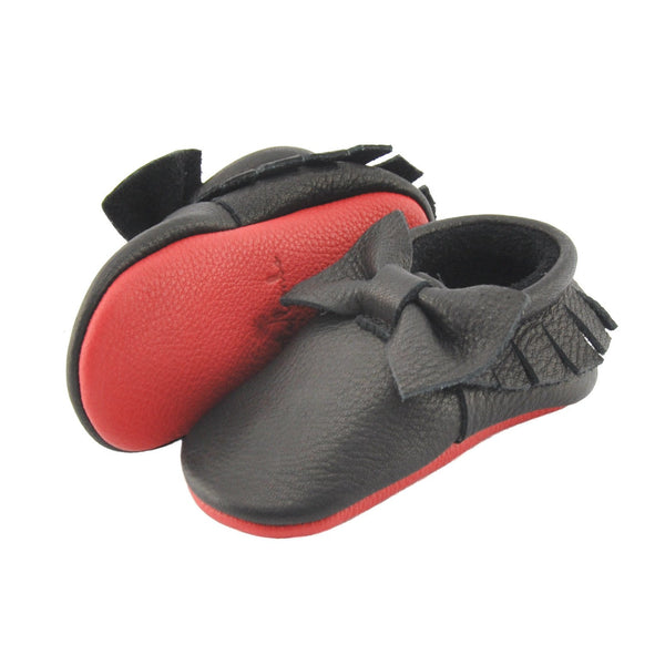 Little Loubs-Little Lambo vegetable tanned baby moccasins