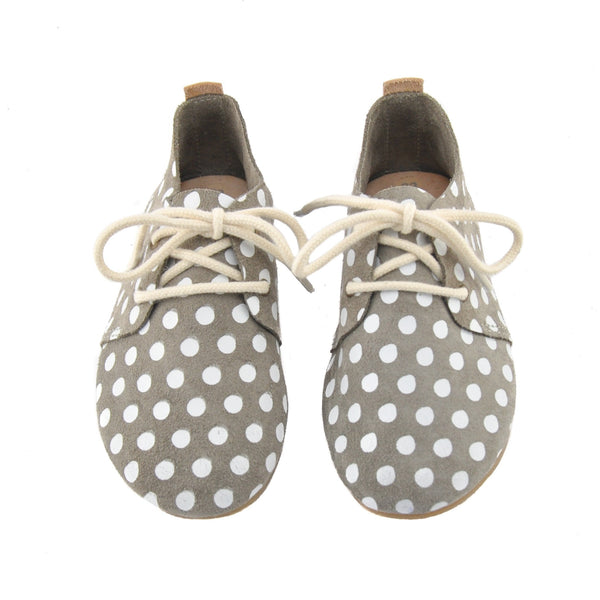 Harbor Dot - Hard Sole Oxfords