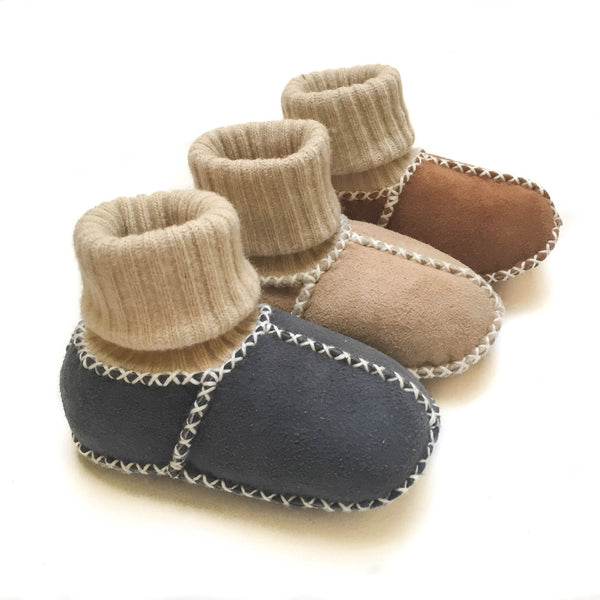 Socks Booties - Dove
