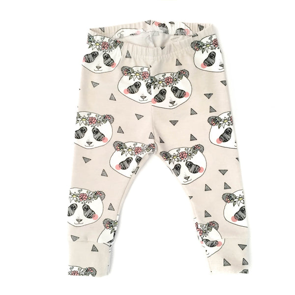 Panda-Little Lambo clothing leggings rompers