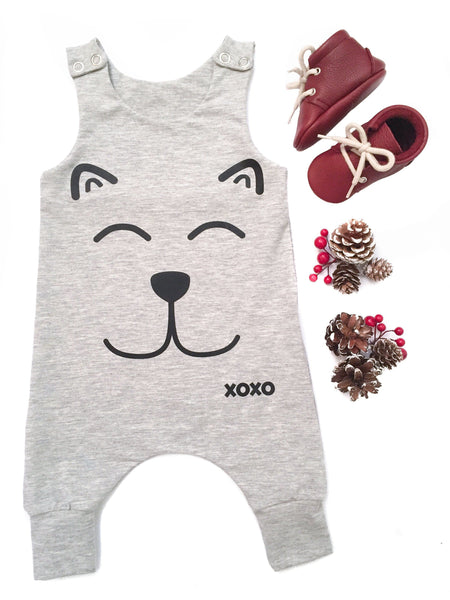 XoXo - Melange Grey-Little Lambo clothing leggings rompers