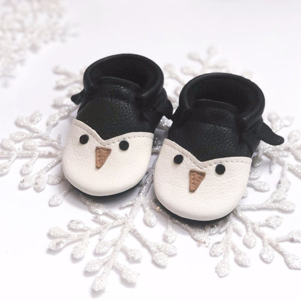 Penguin- Little Lambo baby moccasins