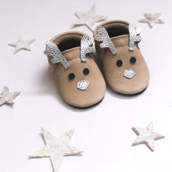 Limited Edition - Sparkle- Little Lambo baby moccasins