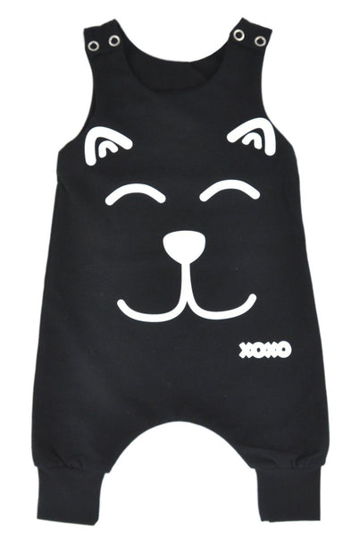 XoXo - Black-Little Lambo clothing leggings rompers