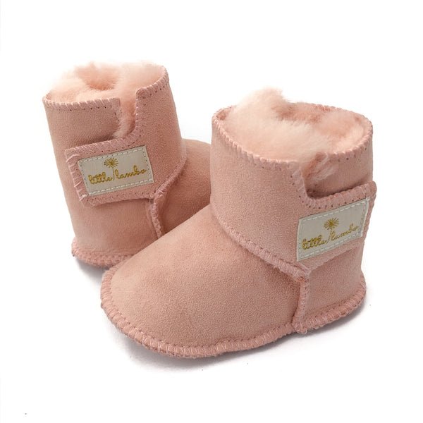 Snuggly booties - Blush - NEW