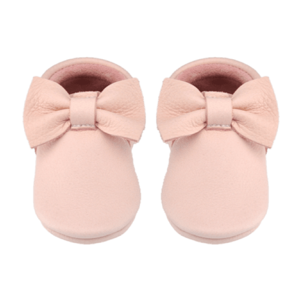 Blush - Bow, Moccasins - Little Lambo
