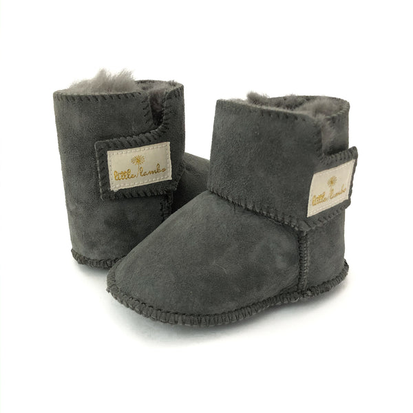 Snuggly booties - Coal - NEW