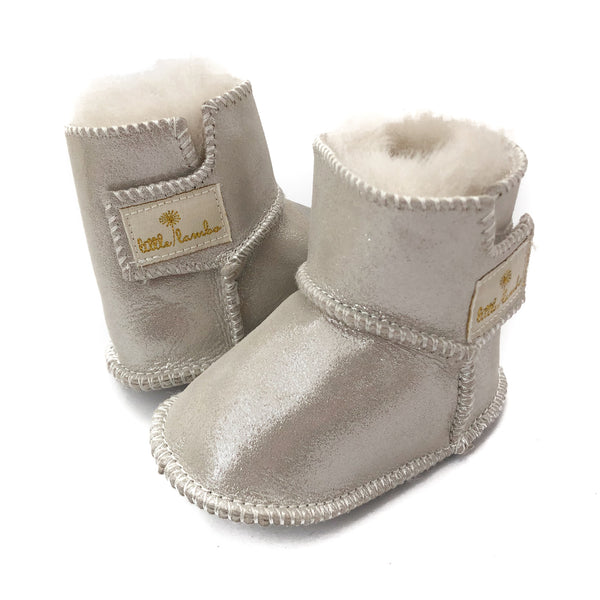 Snuggly booties - Sparkle - NEW