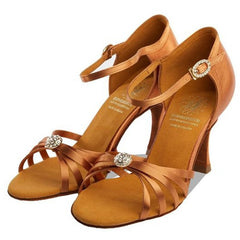 1064 Dark Tan Satin