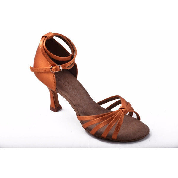 210 Dark Tan Satin